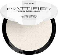 Aura Mattifier Transparent Compact Powder - Прозрачна матираща пудра за лице - червило