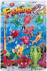 Комплект за риболов - играчка
