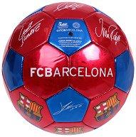 Футболна топка с автографи - ФК Барселона -