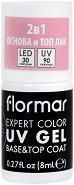 Flormar Expert Color UV Gel Base & Top Coat - База и топ гел лак 2 в 1 -