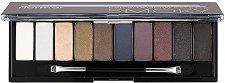 Flormar Eye Shadow Palette Smoky - Палитра с 10 цвята сенки за очи -