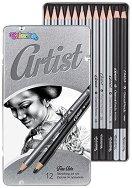 """Графитни моливи - Комплект от 12 броя от серията """"Artist"""""""