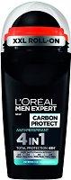 L'Oreal Men Expert Carbon Protect 4 in 1 Anti-Perspirant - Ролон дезодорант против изпотяване за мъже - крем