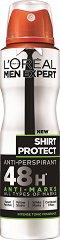 L'Oreal Men Expert Shirt Protect Anti-Perspirant - Дезодорант за мъже против изпотяване и петна по дрехите - четка