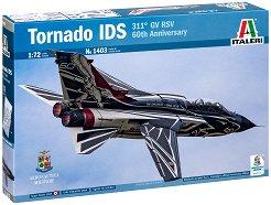 Италиански многоцеливи изтребител - Tornado IDS - Сглобяем авиомодел -