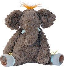 """Слонче - Плюшена играчка за бебе от серията """"Les Roty Moulin Bazar"""" -"""