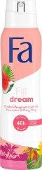Fa Island Vibes Fiji Dream Anti-Perspirant - Дезодорант против изпотяване с аромат на диня и иланг-иланг - продукт