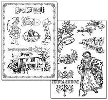 Трансферна хартия - Коледа у дома - Опаковка от 2 листа с формат А4