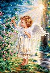 Ангелско докосване - пъзел