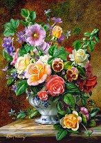 Ваза с цветя - Алберт Уилямс (Albert Williams) - пъзел