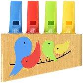 Флейта - Rainbow - Детски музикален инструмент -