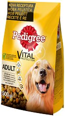 Pedigree Dry Chicken & Vegetables Adult Medium - Суха храна с пилешко и зеленчуци за кучета от средни породи на възраст над 1 година - чували от 500 g ÷ 15 kg -