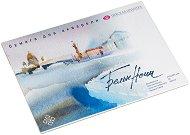 """Скицник за рисуване с акварел - Комплект от 20 листа от серията """"White Nights"""" - продукт"""