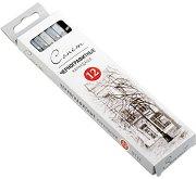 """Графитни моливи - Комплект от 12 броя от серията """"Сонет"""" -"""