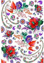 """Декупажна хартия - Бродерия 303 - Серия """"Digital Collection Mulberry"""""""