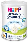 Био мляко за кърмачета - HiPP 1 Organic Combiotic - Метална кутия от 350 g за бебета от момента на раждането - продукт