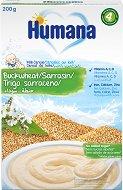 Humana - Инстантна млечна каша с елда - Опаковка от 200 g за бебета над 4 месеца -