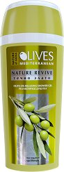 """Nature of Agiva Olives Nature Revive Olive Oil Relaxing Shower Gel - Релаксиращ душ гел от серията """"Olives"""" - гел"""
