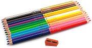 Двувърхи цветни моливи