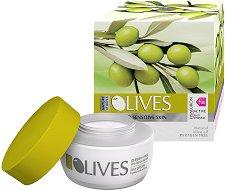 """Nature of Agiva Olives Regenerating Day Cream Anti-wrinkle - Дневен крем против бръчки за суха и чувствителна кожа от серията """"Olives"""" - балсам"""