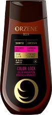 Orzene Beer Color Lock Shampoo Colored Hair - Шампоан за боядисана коса - спирала