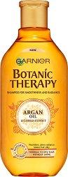 Garnier Botanic Therapy Argan Oil & Camelia Extract Shampoo - Шампоан за нормална до суха коса без блясък с арганово масло и екстракт от камелия - маска