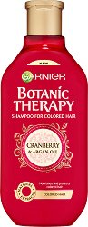 Garnier Botanic Therapy Cranberry & Argan Oil Shampoo - маска