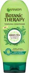 Garnier Botanic Therapy Green Tea & Eucalyptus & Citrus Conditioner - Тонизиращ балсам за нормална, склонна към омазняване коса със зелен чай, евкалипт и цитрус - фон дьо тен