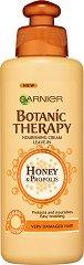 Garnier Botanic Therapy Honey & Propolis Nourishing Cream - Подхранващ крем за увредена коса с цъфтящи краища с мед и прополис - продукт