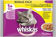 Whiskas Pouch Poultry Selection in Jelly 1+ Years -