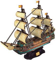 Кораб - Сан Фелипе - 3D пъзел - пъзел