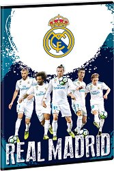 Ученическа тетрадка - Real Madrid Формат А4 с широки редове - продукт