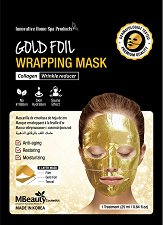 MBeauty Gold Foil Wrapping Mask - шампоан