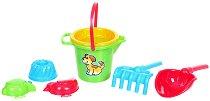 Комплект за игра с пясък - Детска играчка -