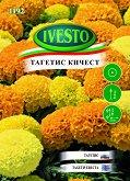 """Семена от Кичест Тагетис Еректа - микс от цветове - От серия """"Ивесто"""""""