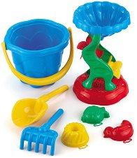 Комплект за игра с пясък - Детски играчки - кукла