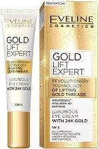 Eveline Gold Lift Expert Eye Cream with 24K Gold - SPF 8 - фон дьо тен