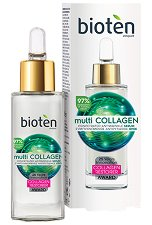 Bioten Multi-Collagen Concentrated Antiwrinkle Serum - Серум за лице против бръчки - сапун