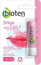 """Bioten Shine My Lips Caring Lip Balm - Балсам за устни с перлен блясък от серията """"My Lips"""" - гланц"""