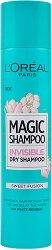 L'Oreal Magic Shampoo - Sweet Fusion - Освежаващ сух шампоан със сладък аромат - спирала