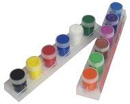 Темперни бои - Комплект от 12 цвята