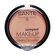 Sante Compact Make Up Cream Foundation - Компактен фон дьо тен с матово покритие - маска