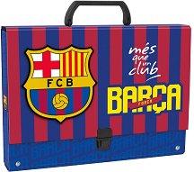 Кутия със закопчалка и дръжка - ФК Барселона