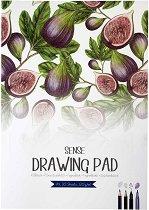 Скицник за рисуване - Смокини - Формат А4