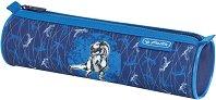 Ученически несесер - Blue Dino - кутия за храна