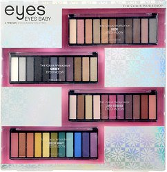 Markwins International Color Workshop Eyes Baby - Комплект с 4 палитри сенки за очи - крем