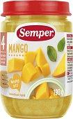 Semper - Пюре от манго - Бурканче от 190 g за бебета над 4 месеца - пюре