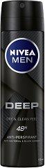 Nivea Men Deep Dry & Fresh Feeling 48h Anti-Perspirant Spray - дезодорант
