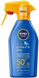 Nivea Sun Kids Moisturizing Trigger Sun Spray  - SPF 50+ - крем
