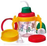Преходна чаша със сламка 5 в 1 - 250 ml - За бебета над 3 месеца -